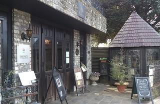 カフェ ローズアンドエム - お店は、山本有三記念館のお隣です