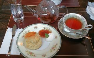 カフェ ローズアンドエム - スコーンセット(900円)