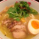 らぁ~めん京 - 鶏しおラーメン¥778