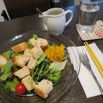 28247861 - 季節の野菜のパンサラダ 830円