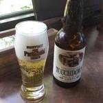 レ・プラ・ドゥ・ラ・テール 美味小舎 - 地ビールの「タッチダウン」(ピルスナー)
