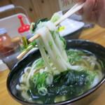 28249874 - やわやわ麺のリフトアップ!!