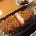 山かつ - あじ豚ロースかつ 中(150g)