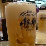 焼肉処 くらちゃん - ドリンク写真:キンキンに冷えたビール♪