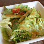 焼肉べこ壱 - ランチのサラダ