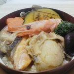 夢銀嶺 - 料理写真:いちえしばれ釜飯