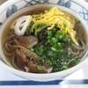 笑夢来庵 - 料理写真:葉ワサビそば(温そば)¥600