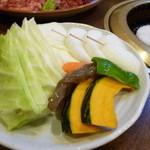 きのした - 焼き野菜