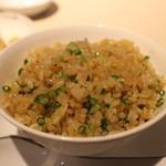 中国飯店 富麗華 - 料理写真:生姜とネギの香り炒飯