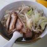 28251123 - 野菜入り醤油ラーメン