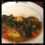 CoCo壱番屋 - ほうれん草野菜カレー