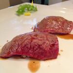 Juntan - 赤身炙り寿司