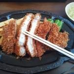とんかつ加茂 - 特製ロースカツ定食