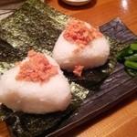 海鮮居酒屋 えん屋 - おにぎり(鮭)