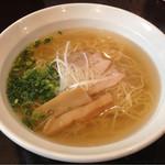麺屋 一忠 - 美しい清湯スープ♪