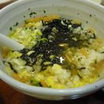 やきとり大吉 - スープ茶漬け 450円 これお奨めです~!