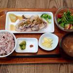 ジャーナルカフェ - JOURNAL野菜たっぷりヘルシーセット♪