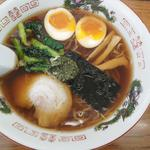 麺屋 雪国 - 香る しょうゆラーメン670円(煮玉子トッピング)+100円