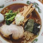 麺屋 雪国 - 香る しょうゆラーメン(メンマトッピング)+120円