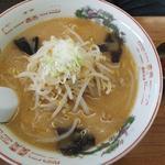 麺屋 雪国 - 芳醇 みそラーメン820円、辛味噌半分+50円
