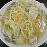 マルマ食堂 - チャンポン(550円)