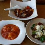 味の來々軒 - エビチリソース、酢豚、回鍋肉