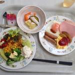 28260050 - 6月16日の朝食。洋食バージョン。