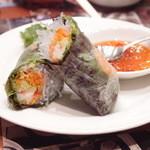 アジアン麺 - Jun, 2014 生春巻き