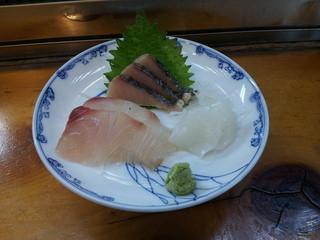 錦天 - Bコースの刺身