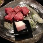 京都 ぐら - 京都 ぐらの厚切り牛タン1380円(14.05)