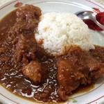 鮎川 - 肉いっぱいカリー 1,000円 2014.4.29