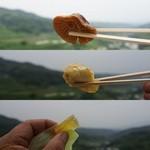 タケヤ - 椎茸・鶏天・柚子羊羹