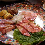 28275147 - ランチの近江牛セットの肉