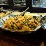 酒肴柚 - 豆腐の辛味噌炒め