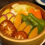 じろー - 蒸し焼野菜
