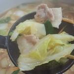 らーめんジャン - スタミナ野菜