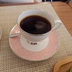 cafe向日葵 - セットのブレンドコーヒー