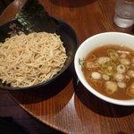 せたが屋 品川店 - 名物つけ麺750円