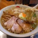 中華そば まるき - 中太縮れ麺(まるき)
