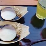台ヶ原金精軒 - 緑茶なのが台ケ原店のお茶