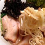 ラーメン オギカワ - 麺リフト