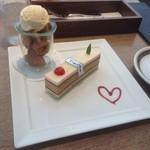 イグ・カフェ - ケーキ&ジェラートセット