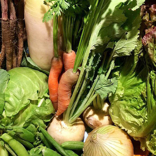 あかんたーれのお料理には野菜がたっぷり
