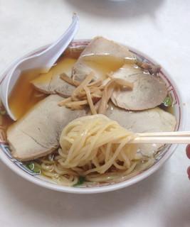 新京亭 - チャーシューワンタンメン 800円
