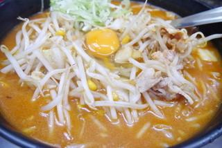 柳家 大通り2号店 - キムチ納豆ラーメン