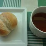 28287097 - パン、スープ
