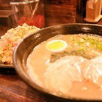 久留米ラーメンまんてん - 名物 焼き飯セット