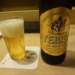 銀座鮨おじま - ヱビスビール