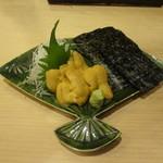 銀座鮨おじま - ムラサキウニ