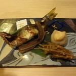銀座鮨おじま - 鮎の山椒焼き